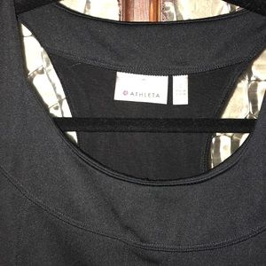 Athleta Tops - Athleta Black Athletic Tank with two back pockets